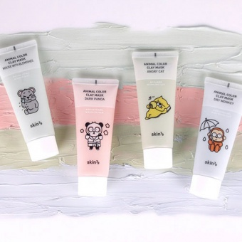 SKIN79 Animal Color Clay Mask Dark Panda 70ml