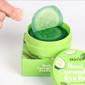 SKIN79 Moisturizing and soothing Real Cucumber Eye Pad 35g